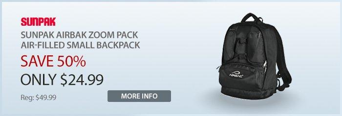 Adorama - Sunpak Airbak Zoom Pack Backpack