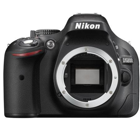 Adorama - Nikon D5200 24.1 Megapixel DX-Format Digital SLR Camera Body