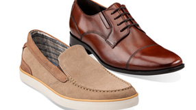 Clarks Leather Shoes for Men