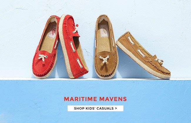 MARITIME MAVENS: SHOP KIDS' CASUALS.