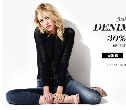 Fashion Denim Days 30% Off - Women