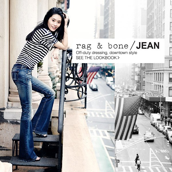 Rag & Bone/JEAN perfects the art of off-duty dressing. Shop Now!