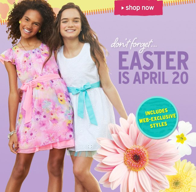 extra 10% of spring dresses & more