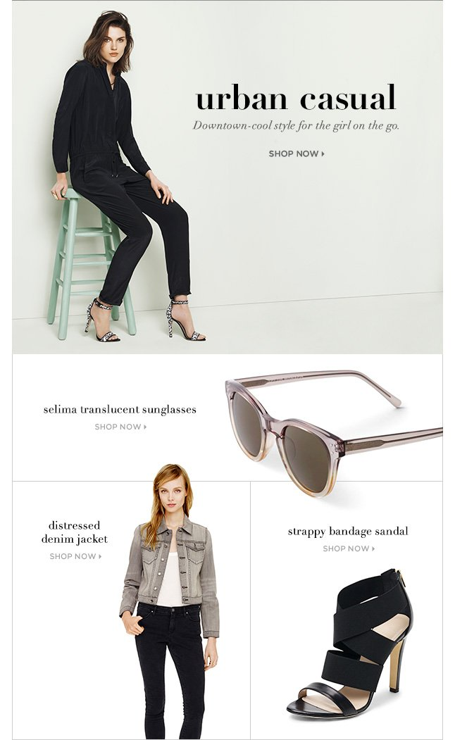 Urban Casual: New Favorites For The Girl On The Go