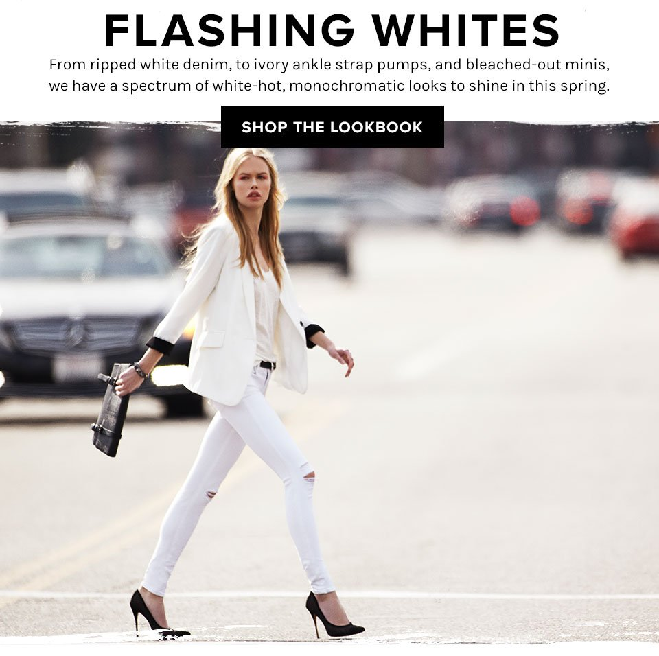 Flashing Whites