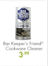 Bar Keeper's Friend® Cookware Cleaner 3.99