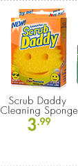 Scrub Daddy Cleaning Sponge 3.99