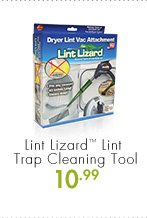 Lint Lizard™ Lint Trap Cleaning Tool 10.99