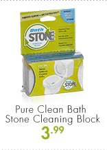 Pure Clean Bath Stone Cleaning Block 3.99