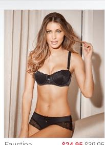 Faustina lingerie set