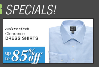 DOORBUSTER Clearance Dress Shirts - up to 85% Off*