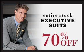 70% OFF* - Executive Suits