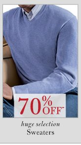 70% OFF* Sweaters