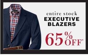 65% OFF* - Executive Blazers