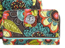 Turn Lock Wallet in Flower Shower