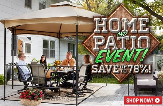 Sportsman's Guide's Home & Patio Event! Save Up To 78%!