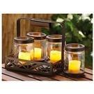 CastleCreek® 5-Pc. Mason Jar Solar Light Set