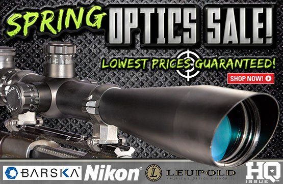 Sportsman's Guide's Spring Optics Sale - Best Prices Guaranteed!