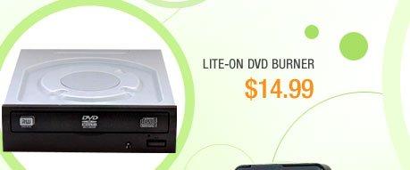 LITE-ON DVD Burner - Bulk 24X DVD+/-R Black SATA Model iHAS124-04
