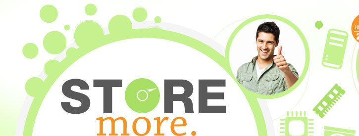 STORE MORE. SAVE MORE.