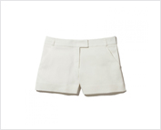 Ehite Shorts