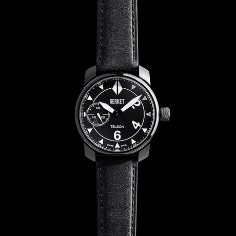 Serket Telson PVD Manual Wind Wristwatch // Limited Edition
