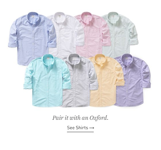 20% off 2 or more solid color Oxfords