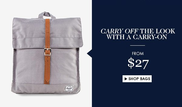 Bags from $27