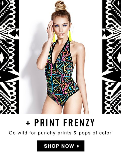 Go Wild for Punchy Prints & Pops pf Color