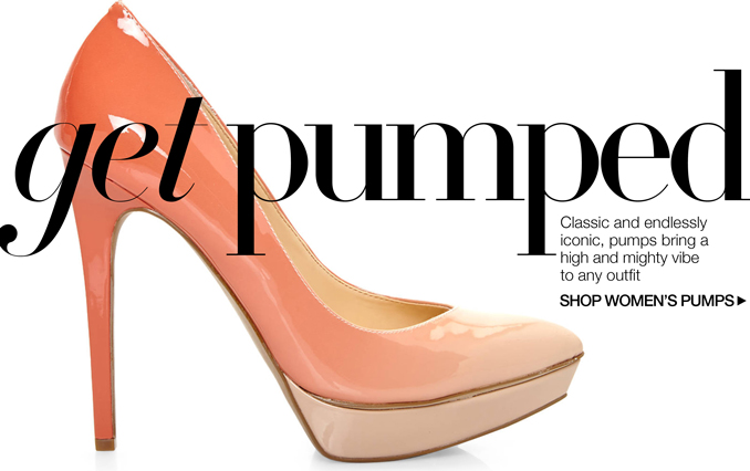 Shop Pumps - Ladies