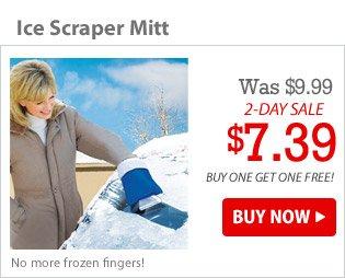 Ice Scraper Mitt