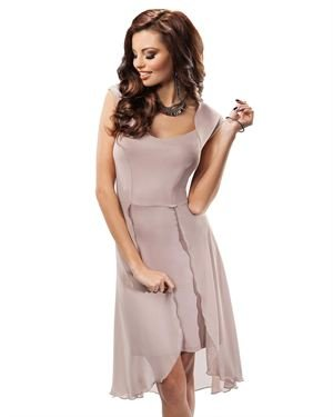 Enny High-Low Dress Made In Europe