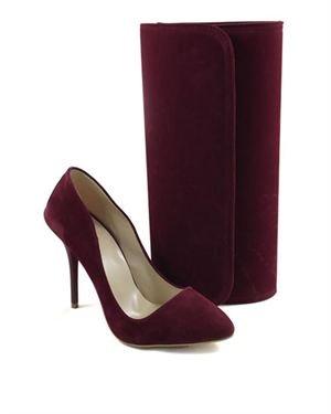Missangelique Solid Color Heel & Clutch Set Made In Europe