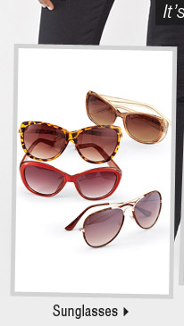 It's the perfect time to buy new spring arrivals: Shop sunglasses.