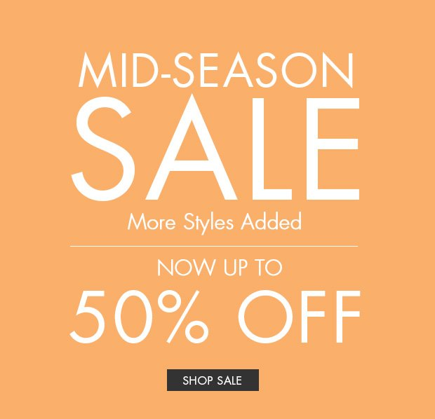 Download Images: Shop Mid-Season Sale, Now Up To 50% Off