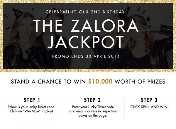 Stand to win $10,000 worth of prizes!
