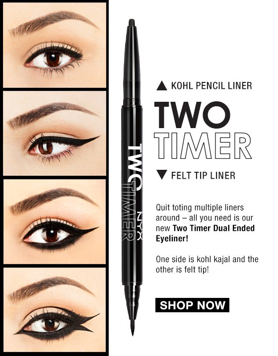 Two Timer Dual Ended Eyeliner - Shop Now