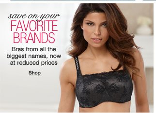 Save on your favorite bra brands