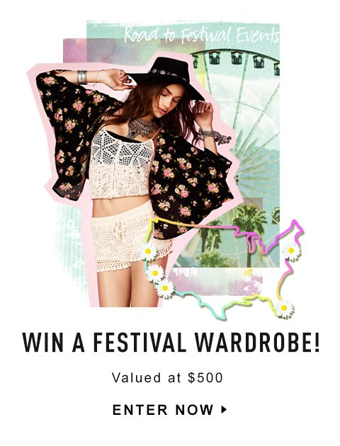 Enter to Win a Festival Wardrobe!