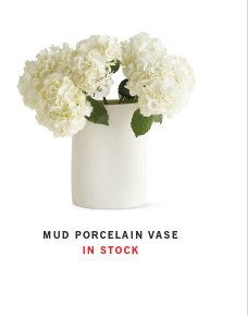 MUD PORCELAIN VASE IN STOCK