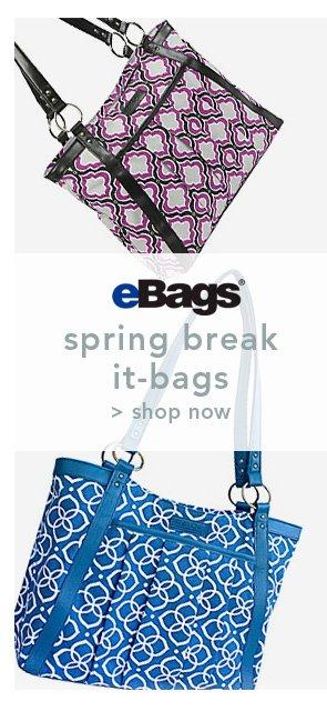 Shop eBags spring break it-bags