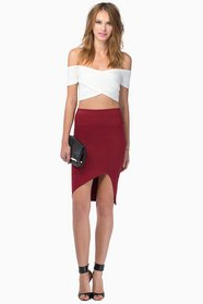 High Altitudes Pencil Skirt $28