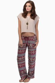 Midnight Memories Drawstring Pants $35