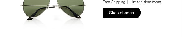 Free Shipping   Limited-time event - Shop shades ›
