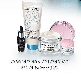 BIENFAIT MULTI-VITAL SET | $51 (A Value of $95)