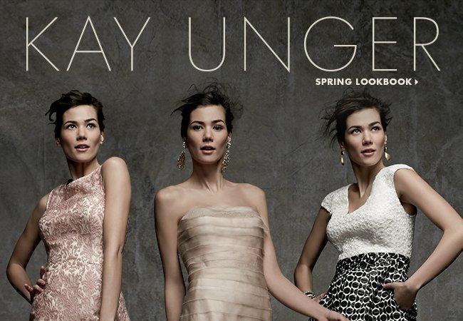 Kay Unger Spring Lookbook