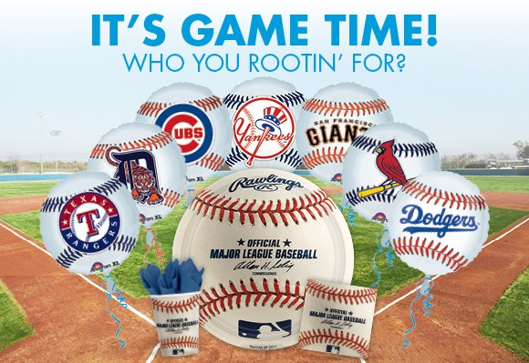 IT'S GAME TIME! WHO YOU ROOTIN' FOR?