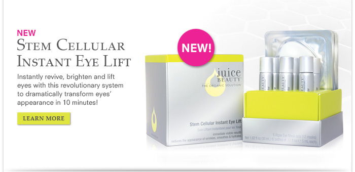 NEW Stem Cellular Instant Eye Lift