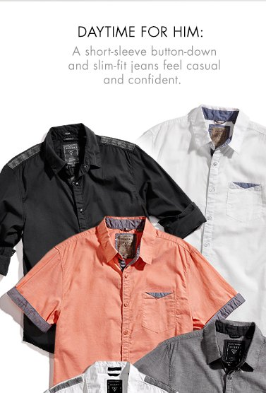 SHORT SLEEVE MEN'S SHIRTS