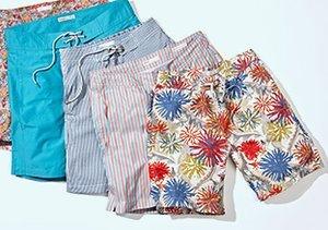 Beachside Favorites: Shorts & Tees